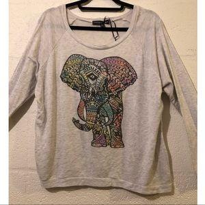 Nwt Living Doll Elephant Sweatshirt